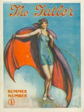 Tatler cover from summer 1927