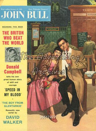 Magazine Cover John Bull 1950s