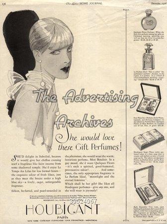 Magazine Advert Houbigant 1920s