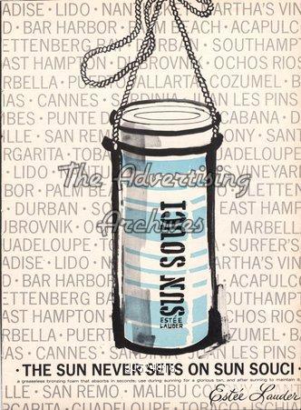 Magazine Advert Estee Lauder 1970s