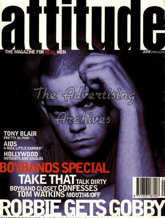 Magazine Cover Attitude 1990s