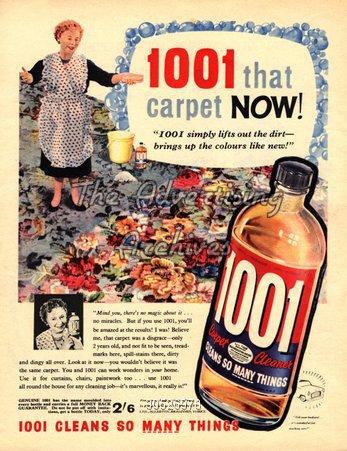 Magazine Advert 1001 1960s