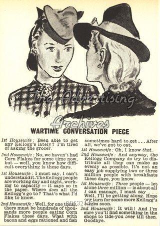 Magazine Advert Kellogg's 1940s