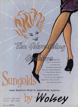 Magazine Advert Wolsey 1950s
