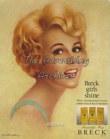 Magazine Advert Breck 1960s