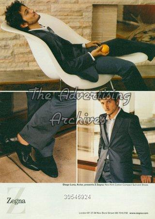 Magazine Advert Ermenegildo Zegna 2000s