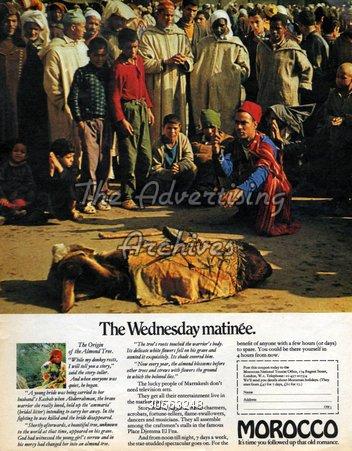 Magazine Advert Morocco 1960s