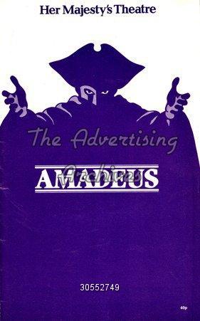 Poster Amadeus 1980s