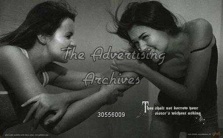 Magazine Advert GHD 2000s
