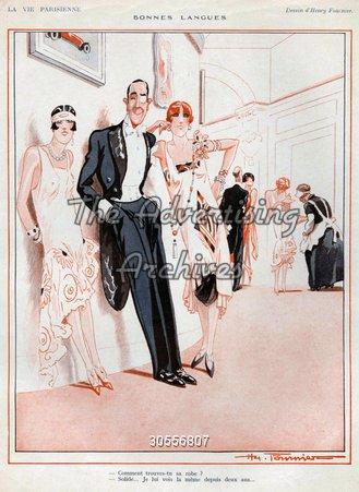Magazine Plate La Vie Parisienne 1920s