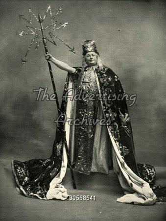 Magazine Plate Le Theatre 1900s