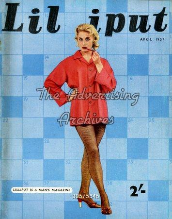 Magazine Cover Lilliput 1950s